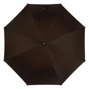 Зонт-трость Pasotti Smocked Hikory Milford Marrone фото-3