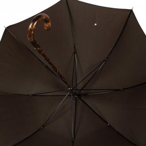 Зонт-трость Pasotti Smocked Hikory Milford Marrone фото-4