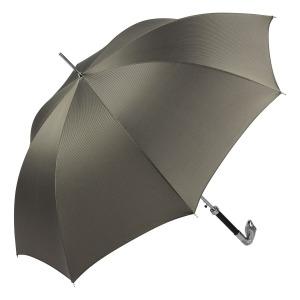 Зонт-трость Pasotti Snake Silver Stripes Grey фото-2
