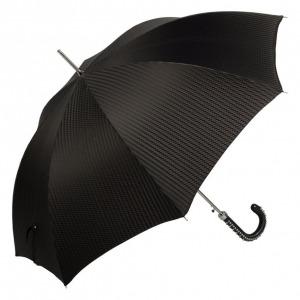 Зонт-трость Pasotti Spina Rombes Black фото-2