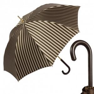 Зонт-трость Pasotti StripesL Morrone Classic Pelle фото-1
