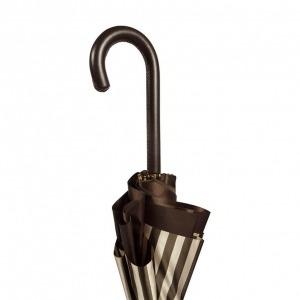 Зонт-трость Pasotti StripesL Morrone Classic Pelle фото-6