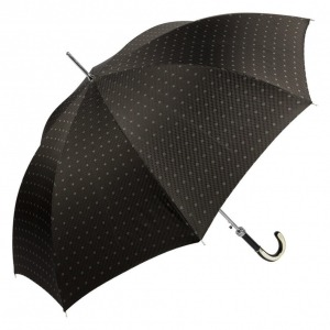 Зонт-трость Pasotti Trofeo Rombo Black фото-2
