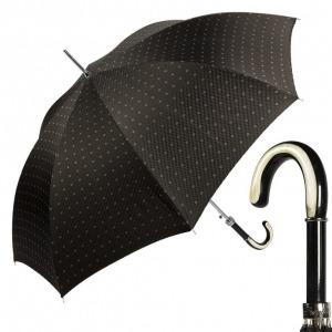Зонт-трость Pasotti Trofeo Rombo Black фото-1