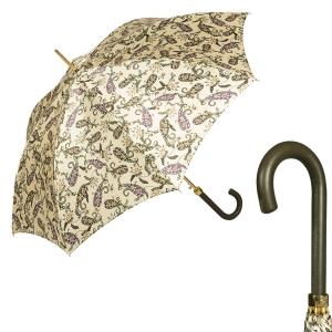 Зонт-трость Pasotti Uno Cetrio Fiora Classic Pelle фото-1