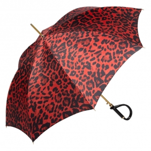 Зонт-трость Pasotti Uno Leo Plastica фото-2