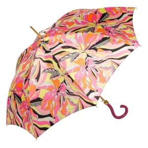 Зонт-трость Pasotti Uno Lumino Coral Strass Fuxia фото-2