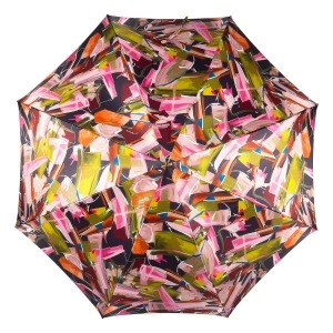 Зонт-трость Pasotti Uno Luminoso Fuxia Classic Pelle фото-3