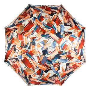 Зонт-трость Pasotti Uno Luminoso Vernis Rosso фото-3