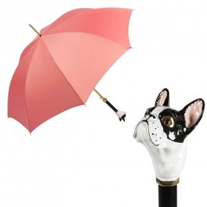 Зонт-трость Pasotti Uno Magenta Bulldog фото-1
