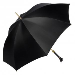 Зонт-трость Pasotti Uno Nero Cat фото-3