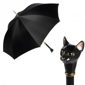 Зонт-трость Pasotti Uno Nero Cat фото-1
