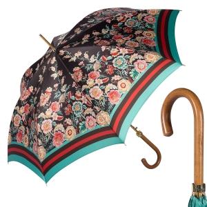 Зонт-трость Pasotti Uno Sudario BiruzaNero фото-1