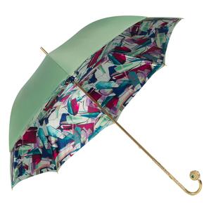 Зонт-трость Pasotti Verde Luminoso Sfera фото-2