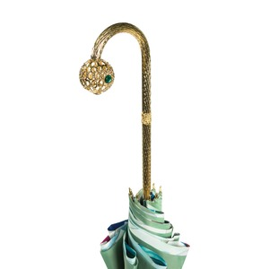 Зонт-трость Pasotti Verde Luminoso Sfera фото-5