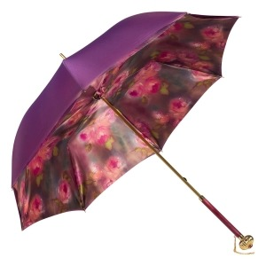 Зонт-трость Pasotti Viola Vivo Globe Fuxia фото-2