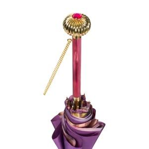 Зонт-трость Pasotti Viola Vivo Globe Fuxia фото-5