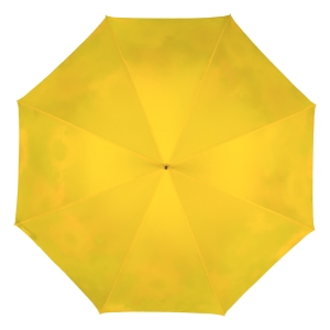 Зонт-трость Pasotti Yellow Gerbera Buton Oro фото-4