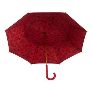 Зонт-трость Pasottti Pantera Rosa Pelle Rosso фото-3