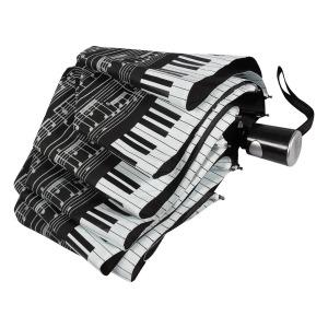 Зонт Складной EMME M392-OC Love Piano Black фото-4