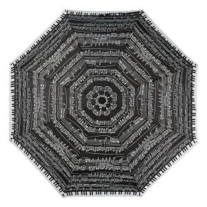 Зонт Складной EMME M392-OC Love Piano Black фото-3