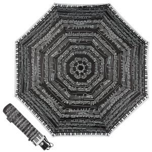 Зонт Складной EMME M392-OC Love Piano Black фото-1