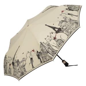 Зонт Складной Guy De Jean 3407-OC Tour Chat Crema фото-2