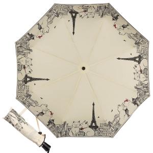 Зонт Складной Guy De Jean 3407-OC Tour Chat Crema фото-1