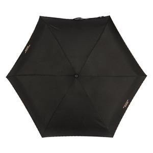 Зонт складной Moschino 7000-SuperminiA Embroidery Heart Case Black фото-4
