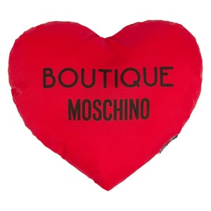 Зонт складной Moschino 7000-SuperminiA Embroidery Heart Case Black фото-3