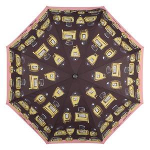 Зонт складной Moschino 7001-OCA Perfumes Black фото-3