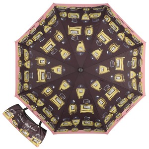 Зонт складной Moschino 7001-OCA Perfumes Black фото-1