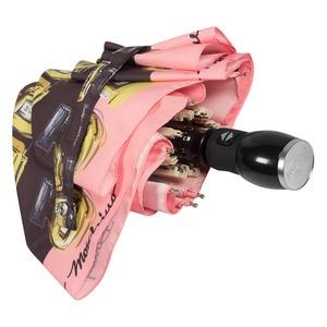 Зонт складной Moschino 7001-OCA Perfumes Black фото-4