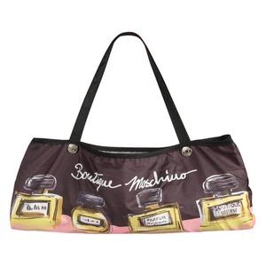 Зонт складной Moschino 7001-OCA Perfumes Black фото-5