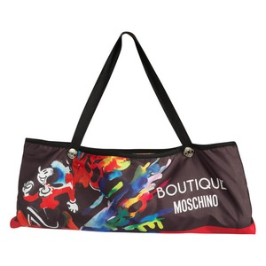 Зонт складной Moschino 7015-OCA Olivia Splash Black фото-5