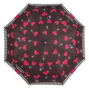 Зонт складной Moschino 7029-OCA Olivia Balloons Black фото-3