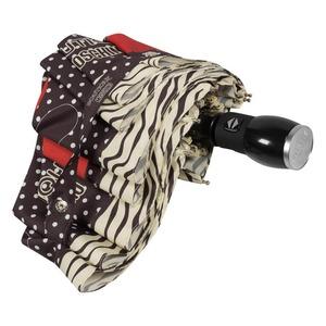 Зонт складной Moschino 7032-OCA Olivia Fruit Hat Black фото-4