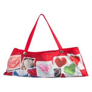 Зонт складной Moschino 7300-OCC Heart Polaroids Red фото-5