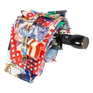 Зонт складной Moschino 8007-OCA Foulards Multi фото-4