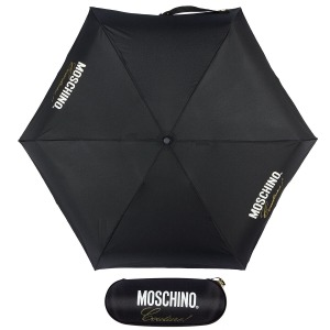Зонт складной Moschino 8014-superminiA Couture! Black фото-1
