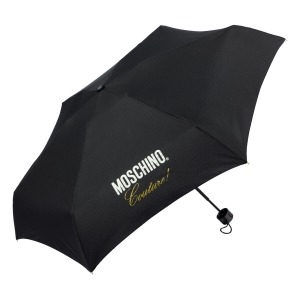 Зонт складной Moschino 8014-superminiA Couture! Black фото-2