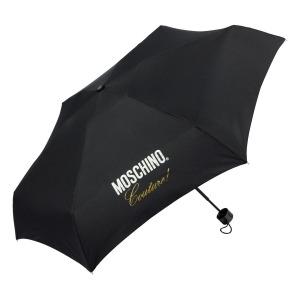 Зонт складной Moschino 8014-superminiA Couture! Black фото-2
