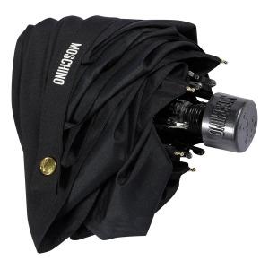 Зонт складной Moschino 8014-superminiA Couture! Black фото-3