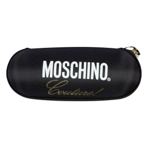 Зонт складной Moschino 8014-superminiA Couture! Black фото-5