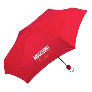 Зонт складной Moschino 8014-superminiC Couture! Red фото-2