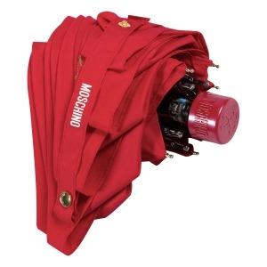 Зонт складной Moschino 8014-superminiC Couture! Red фото-4
