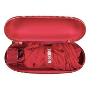 Зонт складной Moschino 8014-superminiC Couture! Red фото-5
