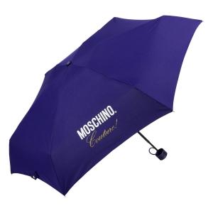 Зонт складной Moschino 8014-superminiF Couture! Blue фото-2