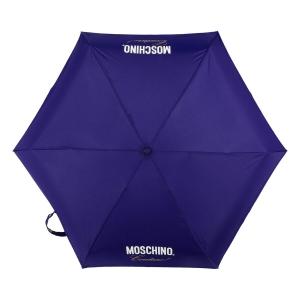 Зонт складной Moschino 8014-superminiF Couture! Blue фото-3