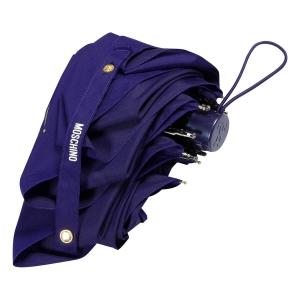 Зонт складной Moschino 8014-superminiF Couture! Blue фото-4